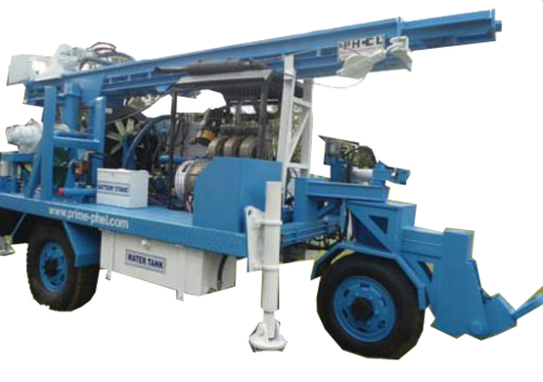 Portable Hydraulic Water Well   Drilling Rig
