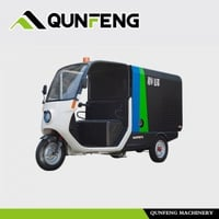 Electric Cleaning Tricycle