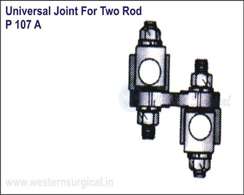 Universal Joint For Two ROD
