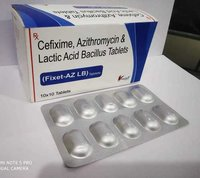 Cefixime 200mg Azithromycin 250mg with LB