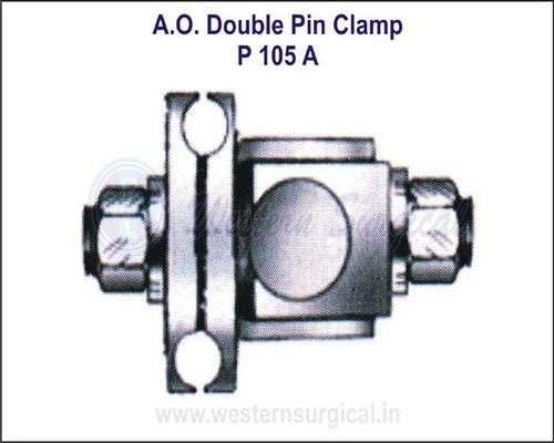 A.O.Type Double Pin Clamp
