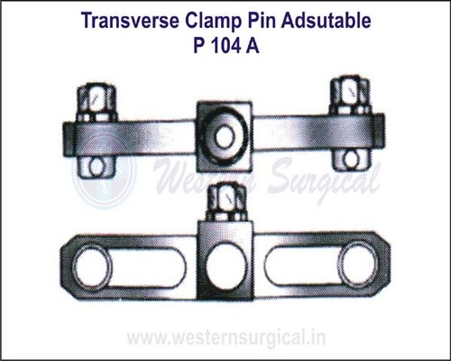 Transverse Clamp Pin Adsutable