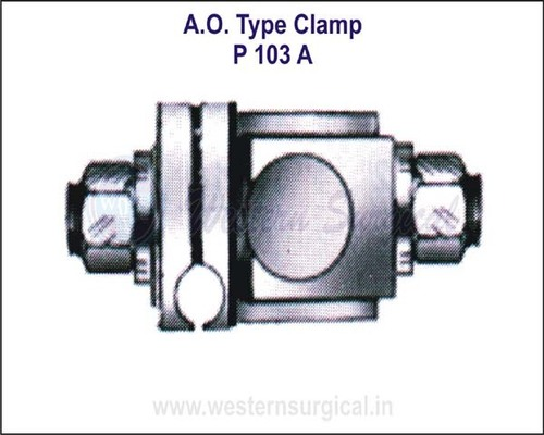 A.O.Type Clamp 4.5 x 11 mm