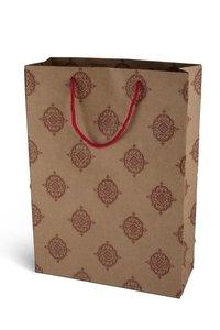 Red Motif Designer Paper Bag