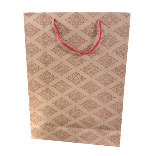 Kraft Paper Shopping Bag