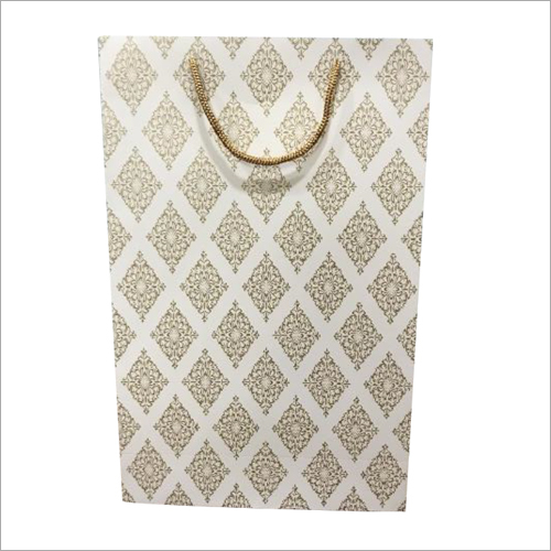 Loop Handle Kraft Laminated Bag