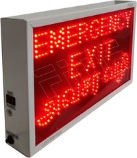 EMERGENCY EXIT LED SIGN LIGHT