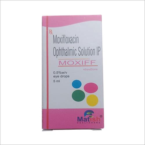 Moxifloxacin Ophthalmic Solution IP