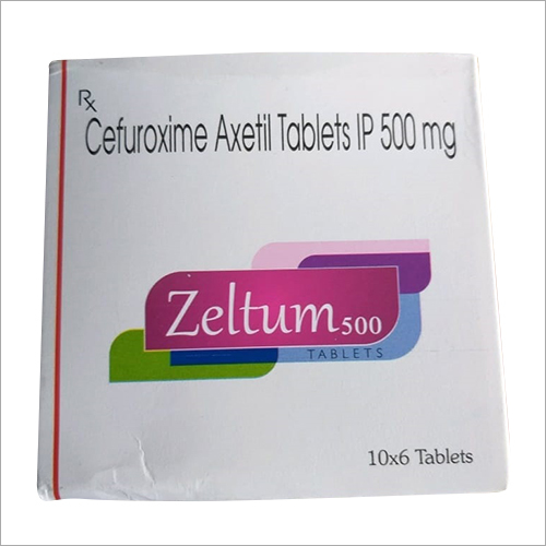 500 MG Cefuroxime Axetil Tablets IP