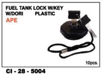 Fuel Tank Lock  W/Key Plastic Ape
