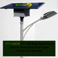 60 to 200 Watts, Fully Automatic, Dusk to Dawn Solar Street Lights