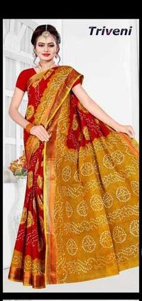 Exclusive Bandhani Saree