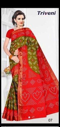 Exclusive Bandhani Sareea