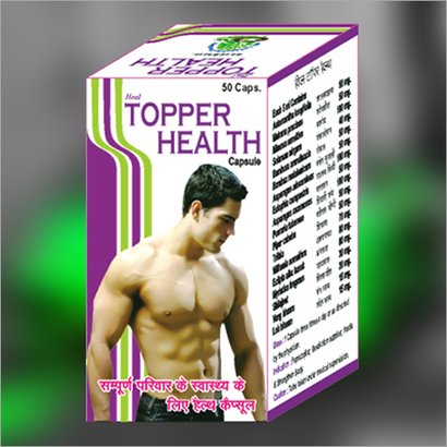 Topper Health Capsule Age Group: For Adults