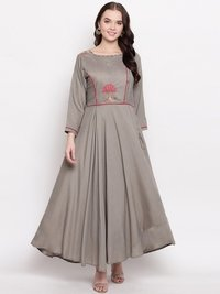 Heavy Viscose Mualin With  Value GOWN