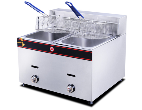 Deep ( French ) Fryer Double Electric & Gas With Stand