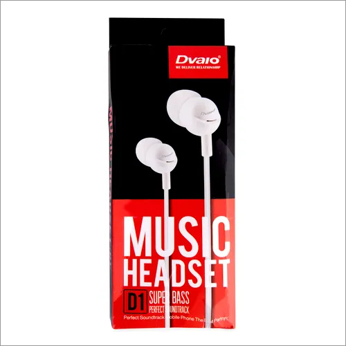 Dvaio D1 Champ Series Earphone
