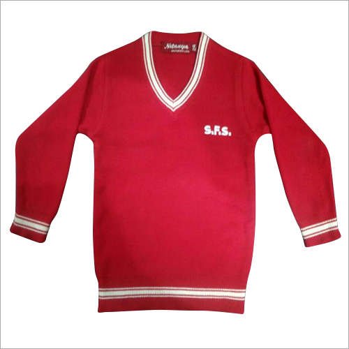 Kids School Red Sweater