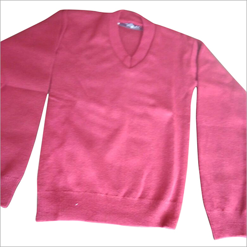 Girls V Neck School Sweater