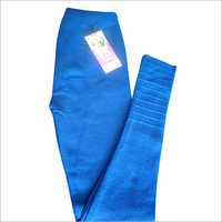 Blue Woolen Leggings