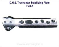 D.H.S. Trochanter Stabilizing Plate