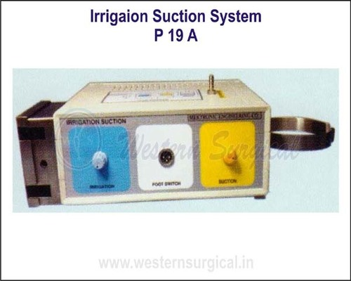 Irrigation Suction System