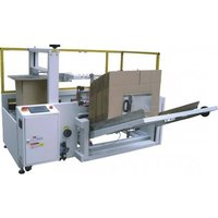 Carton Erector & Bottom Sealer Machine