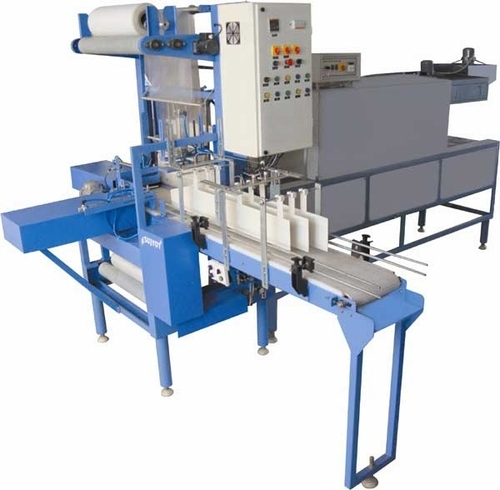 Fully Automatic Web Sealer With Shrink Wrapping Machine