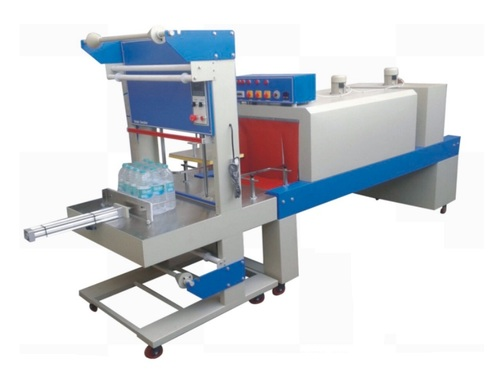 Semi Automatic Web Sealer with Shrink Wrapping Machine