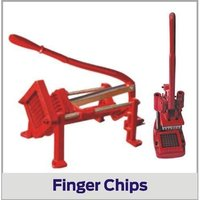 Hand Operated Finger Chips Machine Casting