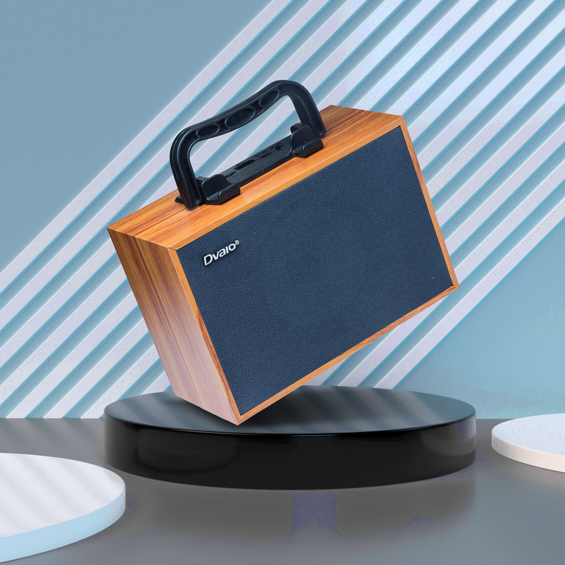 Dvaio S900 Wooden Portable  Wireless Speaker