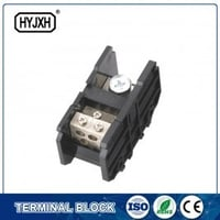 (150A)Din rail type Single phase one-inlet multi-outlet connection terminal block for metering box