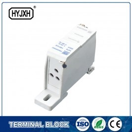 Fj6sf-3 Series Three-inlet Multi-outlet Din Rail Connection Terminal Block(Elaborate Type)