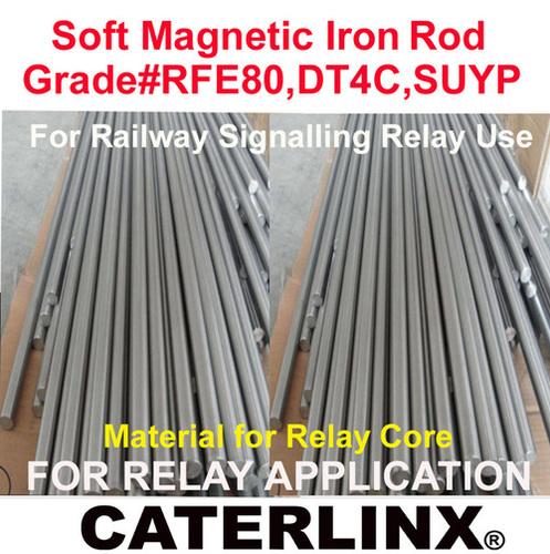 Soft Magnetic Iron Rod