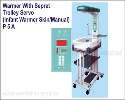 Warmer with sepret trolley servo single probe(infant warmer skin/manual)