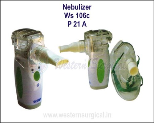 Ultrasonic portable mesh nebulizer