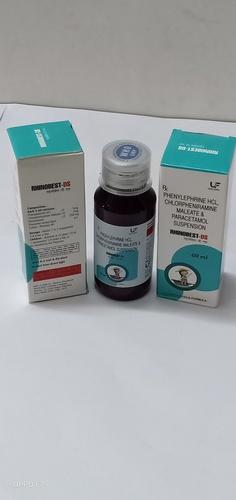 Phenylephirne 5mg, Chlorpheniramine 2mg & Paracetamol 250mg Suspension