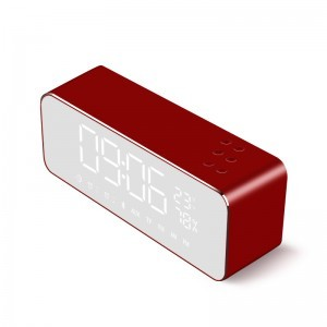 Metal Case USB Radio/Alarm Clock Bluetooth Speakers