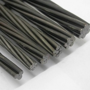 Low Relaxation 15.24mm Prestressed Concrete Steel Strand