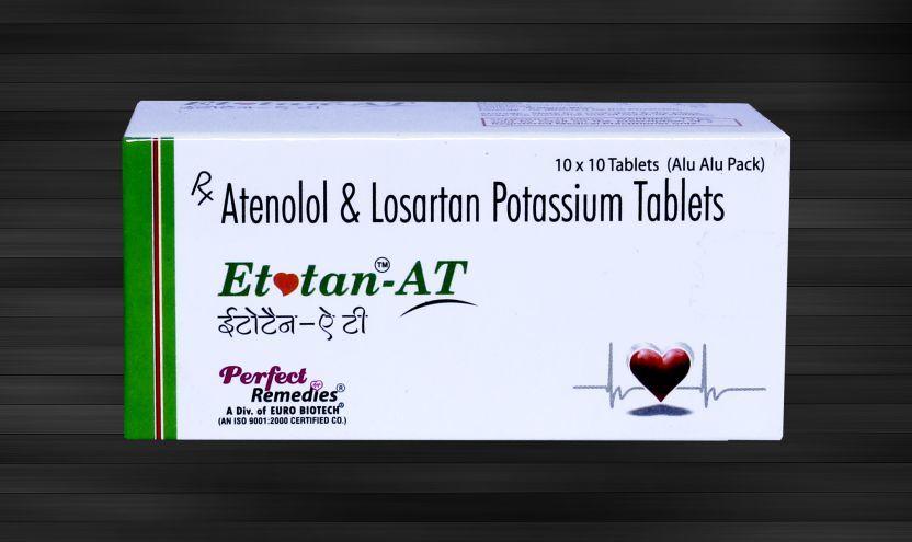 Losartan Potassium 50 mg & Atenolol 50 mg