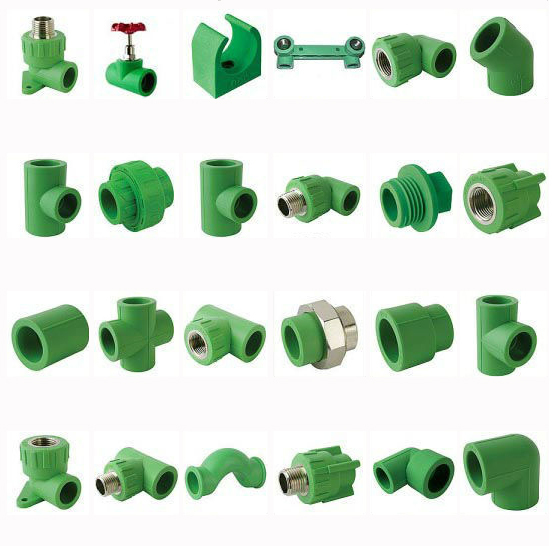 PPR FR PIPES AND FITTINGS FOR CHEMICAL AND WATER