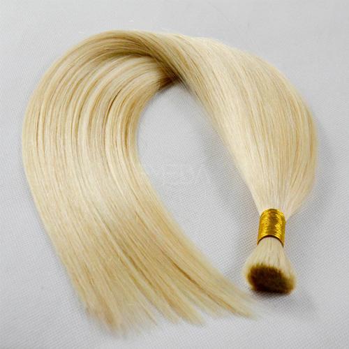 blonde bulk hair