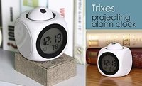 Projector Alarm Clock with Talking Feature