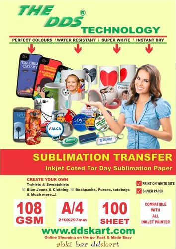SUBLIMATION PAPERS SUPPLIERS IN JAIPUR