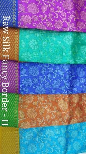 Silk Print Saree