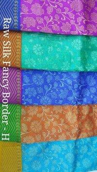 silk print Sarees