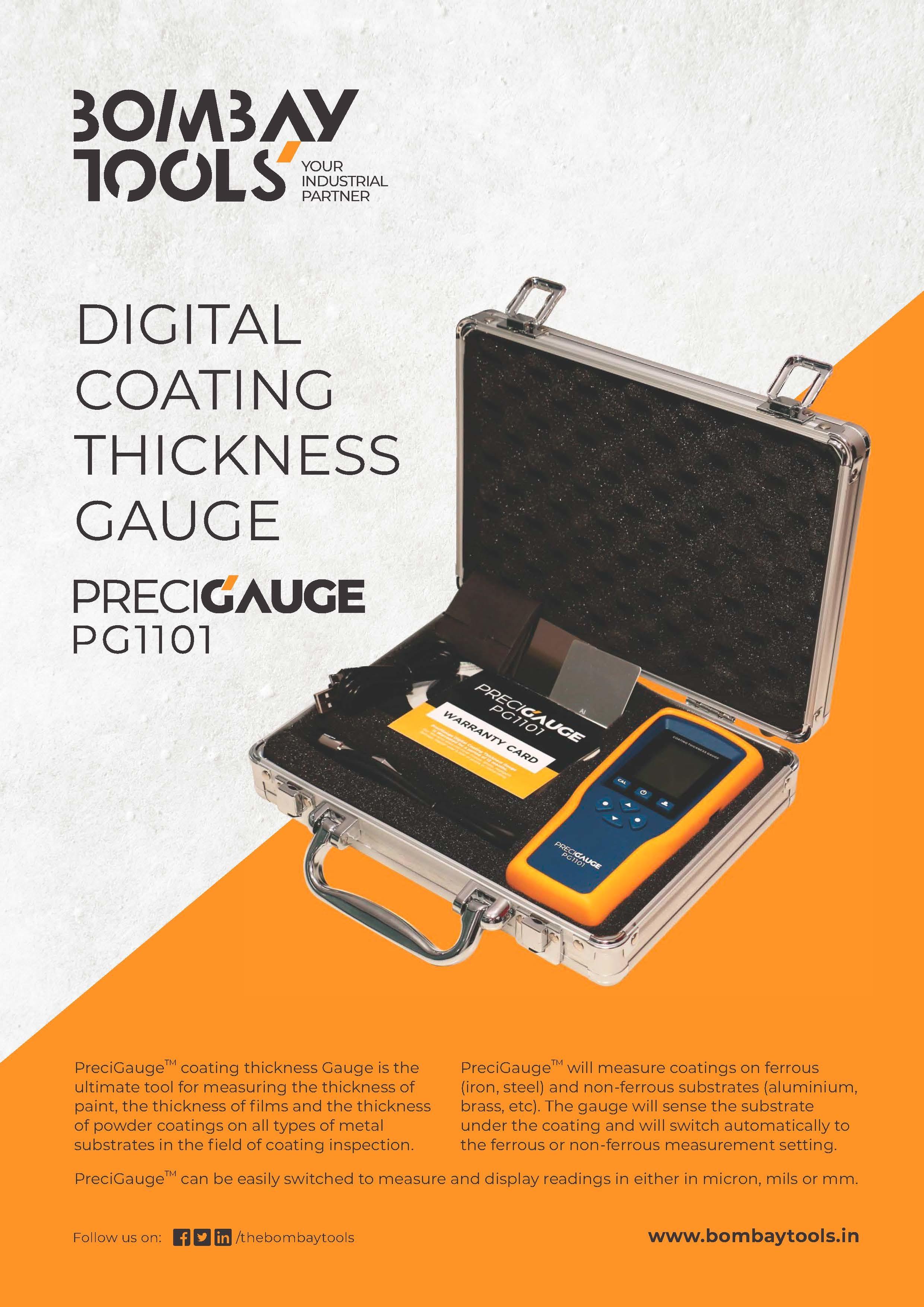 PreciGauge Digital Coating Thickness Gauge
