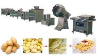 10 HP Potato Chips line Capacity:- 50 Kg/hr