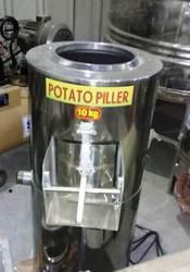 1 HP Potato peeler Machine Capacity:- 100-150 Kg/Hr
