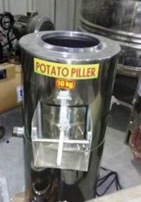 1 HP Potato peeler Machine Capacity:- 100-150 Kg/Hr